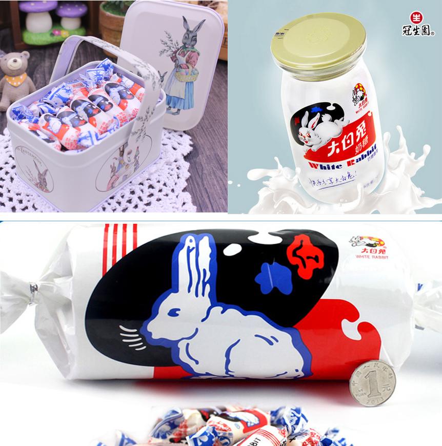 百納食品包裝設計小tip-大白兔奶糖換法式包裝